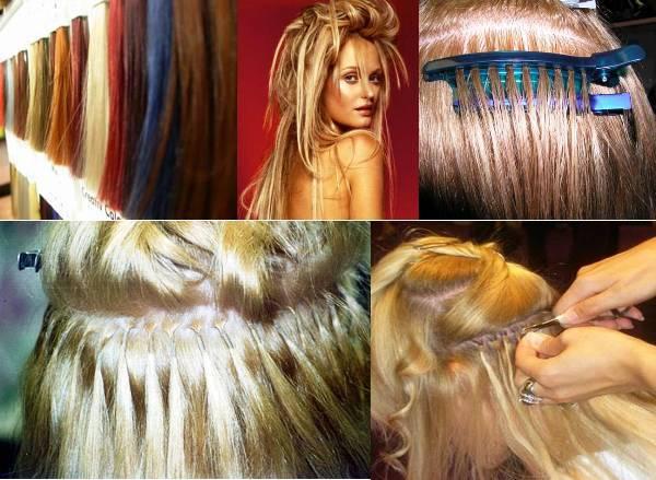 Hair Extensions Extensions capelli: tecniche di realizzazione – VIDEO