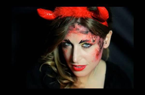 "Halloween make up da diavolo Halloween make up: tutorial trucco ""diavolo sexy   VIDEO"