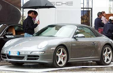 Immagine1265 Pier Silvio Berlusconi, pericoloso incidente con la Porsche