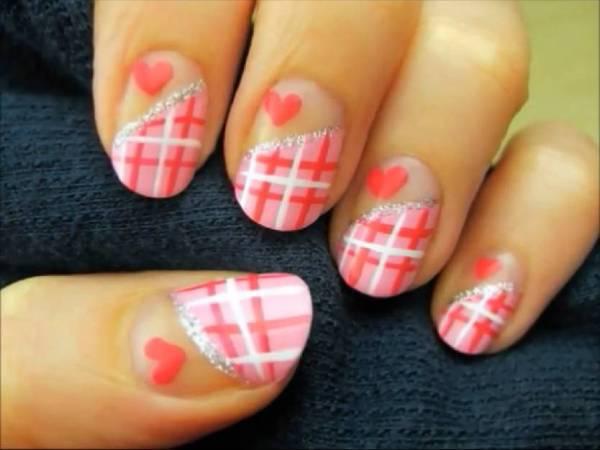 Nail art San Valentino Nail art tutorial: San Valentino è arrivato!   VIDEO
