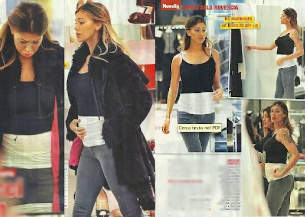 38eef659d7c8 Belen Rodriguez incinta non rinuncia allo shopping selvaggio