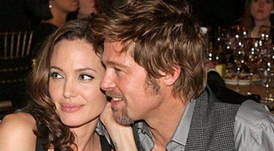 brangelina bradpitt angelinajolie Angelina Jolie vuole ingrassare per il matrimonio con Brad Pitt
