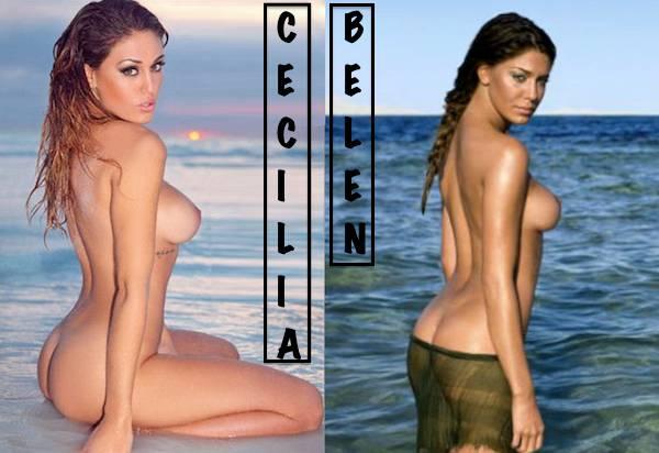 Calendario Belen Nuda.Cecilia Rodriguez Mi Sono Rifatta Il Seno Per Assomigliare