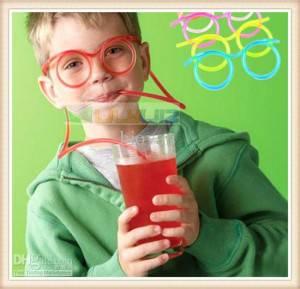 Drinking tube Glasses