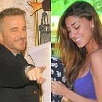 Christian De Sica e Belen Rodriguez