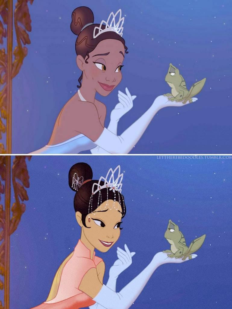 Principesse Disney Ecco Come Apparirebbero Con Un Etnia Diversa