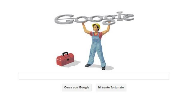 doodle 1 Maggio: Google dedica il suo doodle alla Festa dei Lavoratori