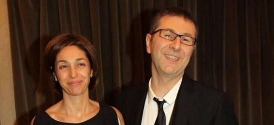 io con la moglie Gioia Celis