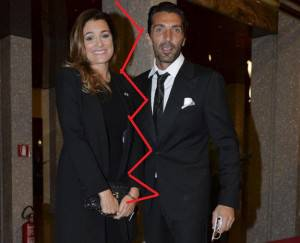 Gigi Buffon e Alena Seredova divorziano