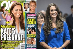 kate middleton aspetta due gemelline