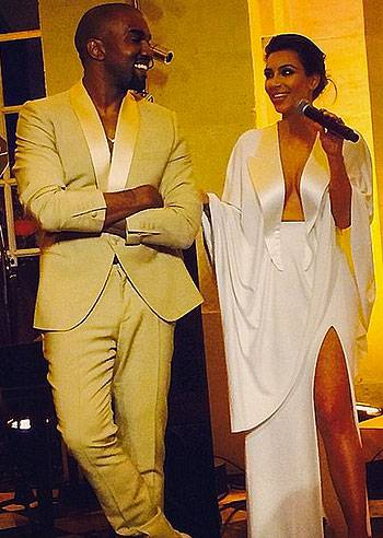 Kim Kardashian matrimonio Firenze