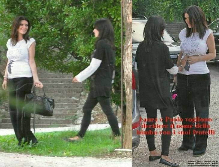 laura5 Laura Pausini incinta: le prime foto col pancione