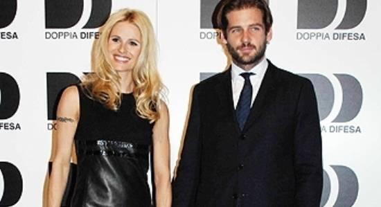michelle hunziker e tomaso trussardi 0c1f Michelle Hunziker e Tomaso Trussardi sul red carpet di Doppia difesa   Foto