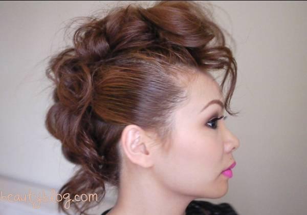 Tutorial cresta capelli lunghi