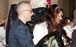 Eros Ramazzotti e Marica Pellegrinelli finalmente sposi