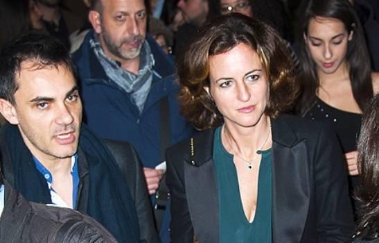Chiara Giordano a teatro con amico.