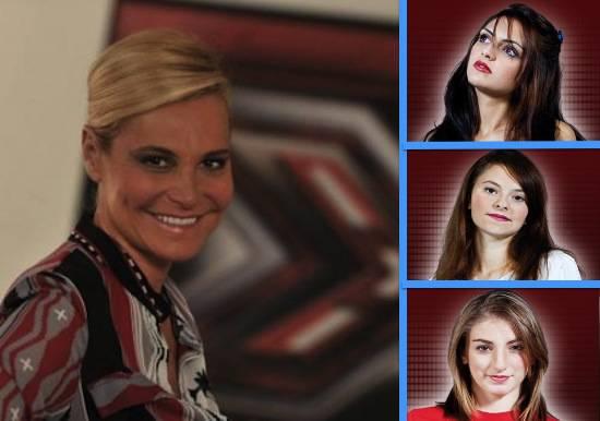X Factor 5: Simona Ventura sceglie Jessica Mazzoli, Nicole ...