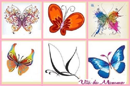 test che farfalla sei