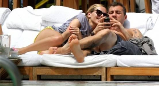 vie Bobo Vieri: nuovo flirt con una bionda misteriosa?   Foto